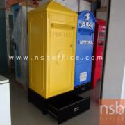 C12A005:ตู้เก็บของบานเปิดรูปแบบตู้จดหมาย French postes สไตล์คลาสสิก MH-005