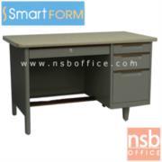 E18A005:โต๊ะทำงานเหล็ก 3 ฟุตครึ่งและ 4 ฟุต  ยี่ห้อ สมาร์ทฟอร์ม