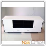 CL30360:ตู้วางทีวีไฮกรอสโอ๊ค-ขาว 180W*50D*70H cm. (มีสต๊อก 2 ใบ)