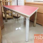 L01A031:โต๊ะเอนกประสงค์โล่งรูปทรงเค้ก120W 60D 50H cm.*มีสต๊อก3ตัว*