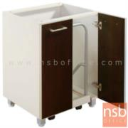 K01A003:ตู้เก็บถังแก๊ส 2 บานเปิด 60 ซม. รุ่น SR-GAS มีล้อเลื่อน