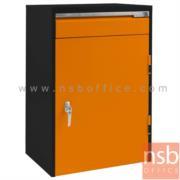 E08A070:ตู้เก็บเครื่องมือช่าง 1 ลิ้นชัก 1 บานเปิด 61.6W*45.7D*90H cm.