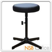 B09A070:เก้าอี้สตูลสูง เบาะกลม N-211 ขนาด Di30.5*H58 cm ขาเหล็ก