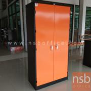 E08A068:ตู้เก็บเครื่องมือช่าง 2 บานเปิดสูง (ด้านใน 2 ลิ้นชัก) มีรูแขวนอุปกรณ์ รุ่น MCB720