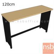 A22A013:โต๊ะบาร์ท็อปไม้เมลามีน  120W,150W,180W (40D*75H)cm.
