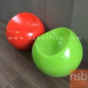 L02A226:เก้าอี้กลม สีเขียว มีจำนวน1ตัว