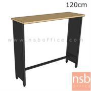 A22A014:โต๊ะบาร์ท็อปไม้เมลามีน  ขนาด 120W,150W,180W (40D*105H)cm.