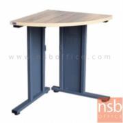 A10A073:โต๊ะเข้ามุม  รุ่น TIM-6100K ขนาด 60W cm. ขาเหล็ก สีลายไม้โซลิค