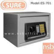 F03A010:ตู้เซฟดิจิตอล SR-ES-701 (1 รหัสกด / ปุ่มหมุนบิด) ขนาด 35W*25D*25H cm.