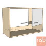 C06A062:ตู้แขวนลอยบานเปิด-ช่องโล่ง  80W*35D*60H cm.  เมลามีน