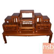 G18A004:โต๊ะหมู่บูชาหมู่  หมู่ 7 , 9 หน้ากว้าง 7 , 9 นิ้ว รุ่น NT03