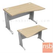 A18A016-1:โต๊ะทำงานหน้าโค้ง   ขนาด 120W cm.  เมลามีน