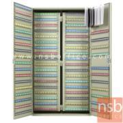 E17A012:ตู้เก็บกุญแจ 1170 ดอก พร้อมพวงกุญแจระบุหมายเลข  ระบบกุญแจล็อค รุ่น  B1170-AS