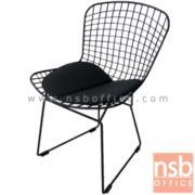 B29A092:เก้าอี้เหล็กโมเดิร์น์ขายู ที่นั่งหุ้มหนังเทียม รุ่น FTS-CM001AC