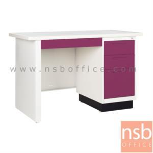 โต๊ะทำงานหน้าเหล็ก 4 ลิ้นชัก:<p>โต๊ะทำงานหน้าเหล็ก 4 ลิ้นชัก ขนาด 3 ฟุตครึ่งและ 4 ฟุต&nbsp;</p>