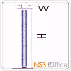 เสาจบพาร์ทิชั่น P-01-NSB ขนาด ก5.5 ซม. (Post):<p>มีความสูง 5 ขนาด คือ 100/120/150/160/180 ซม.</p>
