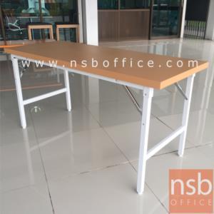 โต๊ะพับหน้าเหล็ก LUCKYWORLD-FGS ขาเหล็กชุบโครเมียม:<p>ผลิต 2 ขนาดคือ 150W และ 180W cm. หน้าโต๊ะทำจากเหล็กหนาไม่น้อยกว่า 0.6 มม. โครงขา-คานทำจากเหล็กแป๊ปเหลี่ยม 1.1/4X1.1/4 นิ้ว หนา 1.2 มม. เชื่อมติดกับคานเหล็กแป๊ป แกนพับทำด้วยเหล็กพ่นสี ชุบด้วยโครเมี่ยม ปลายขาโต๊ะทำด้วยพลาสติกฉีดขึ้นรูปหุ้มสกรู สามารถปรับระดับได้ในกรณีพื้นไม่เสมอ /ผลิต 4สีคือสีเทาควันบุหรี่, สีน้ำเงิน, สีน้ำตาล(ชาเย็น) และสีเขียว</p>