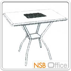 ชุดโต๊ะเอนกประสงค์ 80 ซม.พร้อมเก้าอี้ รุ่น TOTO/YANUS:<p>ชุดโต๊ะเอนกประสงค์ ประกอบด้วย โต๊ะหน้าเหลี่ยมผิวเมลามีน ขนาด ก80*ล80*ส75 ซม. พร้อมเก้าอี้ 4 ตัว ขนาด ก55*ล56*ส83 ซม. ที่นั่ง-พนักพิงบุฟองน้ำหุ้มหนังเทียม มีที่ท้าวแขน/โครงเหล็กชุบโครเมี่ยม</p>