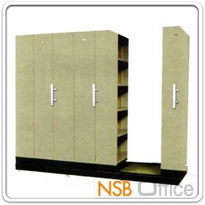 ตู้รางเลื่อนแบบมือผลัก 4, 6, 8, 10 ตู้ TAIYO รุ่น Standard:<p>ประหยัดพื้นที่ได้มากกว่า ในปริมาณจัดเก็บที่เท่ากัน มี 4 ขนาด 4, 6, 8 และ 10 ตู้ / ระบบรางอย่างดี เลื่อนง่าย / ตู้คู่มีแผ่นกั้นตรงกลางเต็มแผ่น (เรารับติดตั้งและรับย้ายตู้รางเลื่อน กรณีลูกค้าย้ายออฟฟิศ)</p>