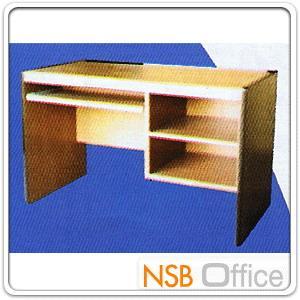 โต๊ะคอมพิวเตอร์ ข้าง 2 ช่องโล่ง ผิวพีวีซี ขอบยาง:<p>ผลิต 2 ความกว้างคือ 100 ซม. และ 120W ซม. / ความหนา 15 มม. / TOP โต๊ะเบิ้ลขอบเป็น 30 มม.</p>
