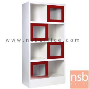 ตู้เหล็กเอนกประสงค์ 4 บานเลื่อนกระจก (8 ช่อง มีกั้นกลาง) 88W*40.7D*176H cm:<p>ตู้โชว์บานเปิดกระจกสูง 8 ช่อง มีแบ่งกั้นกลาง พร้อมบานเลื่อนกระจก / ขนาด 880W*407D*1760H ซม. / ผลิต 8 สีคือ สีขาวมุก, สีดำ, สีแดง, สีม่วง, สีส้ม, สีฟ้า, สีเขียว และสีเทาฟ้า</p>
