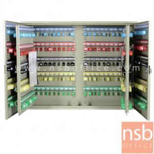 ตู้เก็บกุญแจ 400 ดอก พร้อมพวงกุญแจระบุหมายเลข  ระบบกุญแจล็อค รุ่น  B400-AS:<p>ขนาด 73W*14D*55H cm.&nbsp; ที่แขวงกุญแจสามารถปรับระดับได้ น้ำหนักประมาณ 22 กก. สีครีม</p>