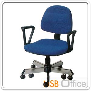 เก้าอี้สำนักงาน ขาเหล็กพ่นดำ 10 ล้อ รุ่น TK-022  ปรับแกนเกลียว:<p>ขาเหล็ก 5 แฉก รุ่น 10 ล้อ แข็งแรงมาก/ปรับระดับด้วยแกนเกลียว/โครงสร้างและขาผลิตจากเหล็กกล่อง รับน้ำหนักได้มาก / ที่นัง-พนักพิงบุฟองน้ำหุ้มหนังเทียม PD (หุ้มผ้าฝ้ายเพิ่ม 200 บาท) &ldquo;ขาเหล็กชุบโครเมี่ยมเพิ่ม 300 บาท&rdquo;</p> <p>ระบบปรับระดับด้วยแกนเกลียว (SC: Screw Lift)</p>