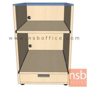 ตู้วางปริ๊นเตอร์ สูง 75 ซม. TOP กระจกด้านบน :<p>ขนาด 50W*60D*75H cm. TOP กระจกด้านบนหนา 10 มิล สามารถมองเห็นไฟของเครื่องเวลาปริ๊น &nbsp;/ &nbsp;ตู้ปิดผิวเมลามีนสีพิเศษ ชั้นกลางวางปริ๊นเตอร์ laser ตัวชั้นเลื่อนใช้งานได้สะดวก ข้างล่างเป็น 1 ลิ้นชัก เหมาะสำหรับเก็บจัดเก็บของ / มีรูร้อยสายไฟ</p>