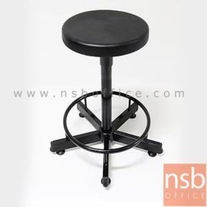 เก้าอี้บาร์กลมเตี้ย PE-RAB-A ที่นั่งพียูโฟม PU Foam (Di35*H55 cm) ปรับระดับด้วยแกนเกลียว:<p>เหมาะสำหรับงานห้องแล๊ป สถานศึกษา และโรงพยาบาล / ขนาด Di35*H55 cm ปรับระดับด้วยแกนเกลียว +10 cm / ที่นั่งผลิตจากพียูโฟม&nbsp;PU Foam ฉีดขึ้นรูป&nbsp;แข็งแรง ทนทาน&nbsp;/ ขาเหล็กกล่อง&nbsp;มีที่พักเท้า</p>