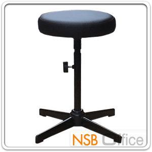 เก้าอี้สตูลเตี้ย เบาะกลม N-111 ขนาด Di30.5*H49 cm ขาเหล็ก:<p>เส้นผ่าศูนย์กลาง Di30.5*H49 cm (ยังไม่ปรับระดับ) / ขาเหล็กพ่นดำ 4 แฉก / ปรับสูงต่ำโดยใช้สกรูล๊อค</p>