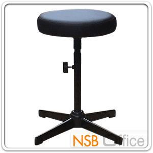 เก้าอี้สตูลสูง เบาะกลม N-211 ขนาด Di30.5*H58 cm ขาเหล็ก:<p>เส้นผ่าศูนย์กลาง Di30.5*H58 cm (ยังไม่ปรับระดับ) / ขาเหล็กพ่นดำ 4 แฉก / ปรับสูงต่ำโดยใช้สกรูล๊อค</p>