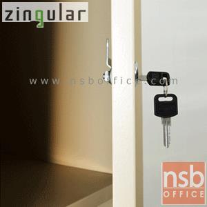 ตู้เหล็กล็อคเกอร์ 6 ประตู รุ่น ZINGULAR-ZLK-6106 กุญแจแยก:<p>ขนาด 90W*45D*185H cm. หน้าบานเปิดทึบ 6 ประตู กุญแจล็อคแยก 6 ชุด ภายในมี 1&nbsp; แผ่นชั้น พร้อมราวแขวนเสื้อ /โครงผลิตจากเหล็กหนา 0.6 มม. พ่นสีด้วยระบบ Epoxy สีเรียบเนียบไปกับเนื้อเหล็ก ใช้สำหรับเก็บเสื้อผ้าหรือวัสดุอุปกรณ์อเนกประสงค์ /ผลิตเฉพาะสีครีม</p>