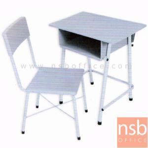 BBTC3:<p>ประกอบด้วยโต๊ะ 1 ตัว พร้อมเก้าอี้ 1 ตัว โครงสร้างผลิตจากเหล็กกลมพ่นสี</p>