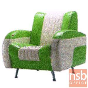 ชุดโซฟาแนววินเทจหนังเทียมชนิดมันเงา รุ่น VINTAGE-RG3 เสริมขาเหล็ก:<p>มี 2 ขนาดคือ 1 ที่นั่ง และ 2 ที่นั่ง /1 ที่นั่งขนาด 80W*91D*80H(สูงที่นั่ง 42) cm., 2 ที่นั่งขนาด 140W*91D*80H(สูงที่นั่ง 42) cm. เสริมขาเหล็กชุบโครเมี่ยม ที่นั่งพนักพิงบุฟองน้ำหุ้มหนังเทียมชนิดพิเศษมันและเงา ทำให้ดูทันสมัย สามารถเลือกสีได้</p>