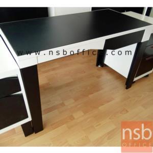 โต๊ะทำงานเหล็ก 1 ลิ้นชัก  รุ่น KS-KONNER :<p>ขนาด 120W*60D*75H cm. สินค้าผลิตจากเหล็กอย่างดี ที่รับประกันความคงทน แข็งแรง ทำ 2 โทนสีคือสีดำ/ขาว และสีดำ/แดง**ดูรูปแบบSETได้ที่รหัส E22A013**</p>