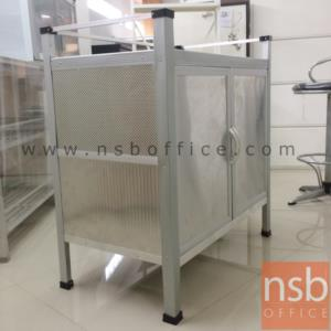 ตู้ครัวอลูมิเนียมสีเงิน 80W 46D 85H cm.*มีสต๊อก1 *:<p>ตู้ครัวอลูมิเนียมสีเงิน 80W 46D 85H cm. *มีสต๊อก1 *</p>