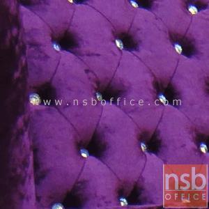 ชุดเก้าอี้แนวโมเดิร์น รุ่น VINTAGE-3A มีท้าวแขน พร้อมสตูล :<p>ชุดเก้าอี้ประกอบด้วยเก้าอี้ 1 ที่นั่งขนาด 85W*85D*110H1*(42 ที่นั่ง) cm. และสตูลขนาด 62W*42D*35H cm. ขาไม้(ขาสิงห์) ประดับตกแต่งด้วยกระดุมเพชรกระจก ทำให้ดูสวยงาม และหรูหรามากยิ่งขึ้น /ที่นั่งพร้อมสตูลบุฟองน้ำหุ้มผ้ากำมะหยี่ ลวดลายและสีสันตามรูป</p> <p>(หุ้มผ้ากำมะหยี่เพิ่ม บาท)</p>