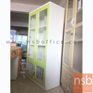 ตู้เอกสารสูง 2 บนบานเปิดกระจก  ล่างบานเปิดกระจก 80W 40D 161H cm.:<p>ตู้เอกสารสูง 2 บนบานเปิดกระจก&nbsp; ล่างบานเปิดกระจก 80W 40D 161H cm.</p>