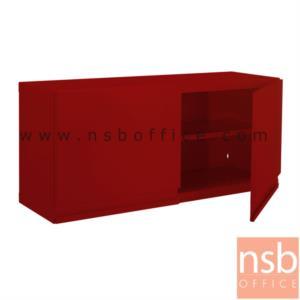 """ตู้เหล็กแขวนผนัง 2 บานเปิดใหญ่ NP-105 :<p>ขนาด 1000W*320D*440H mm ผลิตสีขาวมุก(DG),สีแดง(RD) และสีดำ(BL)<br /><span style=""""text-decoration: underline;""""><span style=""""font-size: 12px;"""">*กรณีเจาะยึดผนังเพิ่มใบละ 200 บาท (เฉพาะผนังปูนเท่านั้น)*</span></span></p>"""