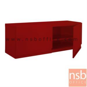 """ตู้เหล็กแขวนผนัง 2 บานเปิดเตี้ย NP-205 ขนาด 100W*32D*30H cm:<p>ตู้แขวนผนัง 2 บานเปิดเล็ก รุ่น NP 205 ขนาด 1000W*320D*300H mm ผลิตสีขาวมุก(DG) สีแดง(RD) สีดำ(BL)<br /><span style=""""text-decoration: underline;"""">*กรณีเจาะยึดผนังเพิ่มใบละ 200 บาท (เฉพาะผนังปูนเท่านั้น)*</span></p>"""