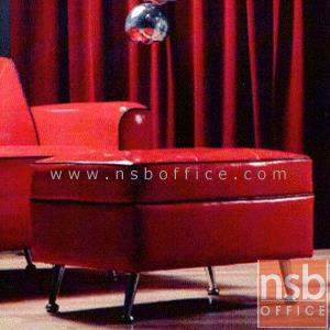 ชุดโซฟาแนววินเทจ รุ่น VINTAGE-11A มีท้าวแขน พร้อมสตูล (1, 2 ที่นั่ง และสตูล):<p>ขนาด 1 ที่นั่ง 77W*80D*74(สูงที่นั่ง 42) cm. ขนาด 2 ที่นั่ง 127W*80D*74(สูงที่นั่ง 42) cm. และสตูล 65W*45D*42H cm. เสริมด้วยขาเหล็กชุบโครเมี่ยม สามารถทำความสะอาดใต้โซฟาได้ง่าย ที่นั่ง/พนักพิงบุฟองน้ำอย่างดีหุ้มทับด้วยหนังเทียมชนิดพิเศษ รูปแบบทันสมัย และดีมีสไตล์</p> <p>(หุ้มผ้ากำมะหยี่เพิ่ม บาท)</p>