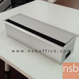 ป็อบอัพพร้อมรางไฟ รุ่น 7205 (ไม่มีปลั๊กไฟ):<p>ผลิตความกว้าง 2 ขนาด 30W (2 หน้ากาก), <span>40W</span>&nbsp;(3 หน้ากาก) (*12D*12H cm.) / ผลิตจากอลูมิเนียม ฝาเปิด 1 ด้าน /&nbsp;เจาะช่องปลั๊กไฟมาตรฐานไทย 70W*40H mm.&nbsp;</p>
