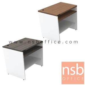 โต๊ะคอมพิวเตอร์ พร้อมรางคีย์บอร์ด 2 ตอน TY-12S:<p>ขนาด 80W*60D*75H cm. TOP หนา 25 มม. ผิวเมลามีน กันชื้น กันร้อน&nbsp;</p>