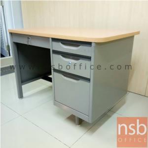 โต๊ะทำงานเหล็กสีเทาเข้ม-หน้าโต๊ะะไม้เมลามีนสีบีช ขนาด 3.5 ฟุต  มีสต๊อก 19 ตัว:<p>โต๊ะทำงานเหล็กสีเทาเข้ม-หน้าโต๊ะะไม้เมลามีนสีบีช ขนาด 3.5 ฟุต&nbsp;&nbsp;มีสต๊อก 19 ตัว</p>