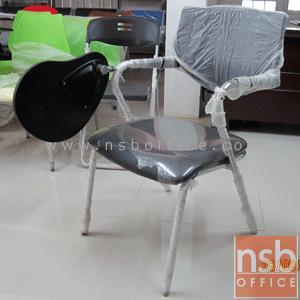 เก้าอี้เลคเชอร์ รุ่น PE-528L ขาเหล็กชุปโครเมี่ยม:<p>ขนาด ก51*ล55*ส83 ซม./พนักพิงเปลือกโพลี่ โครงเหล็กชุปโครเมี่ยม/ที่นั่งบุฟองน้ำหุ้มหนังเทียม หรือผ้าฝ้าย (หุ้มผ้าฝ้ายเพิ่ม 150 บาท)</p>