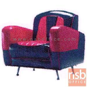 ชุดโซฟาแนววินเทจหนังเทียมชนิดมันเงา รุ่น VINTAGE-RG2 เสริมขาเหล็ก:<p>มี 2 ขนาดคือ 1 ที่นั่ง และ 2 ที่นั่ง /1 ที่นั่งขนาด 77W*80D*80H(สูงที่นั่ง 42) cm., 2 ที่นั่งขนาด 127W*80D*80H(สูงที่นั่ง 42) cm. เสริมขาเหล็กชุบโครเมี่ยม ที่นั่งพนักพิงบุฟองน้ำหุ้มหนังเทียมชนิดพิเศษมันและเงา ทำให้ดูทันสมัย สามารถเลือกสีได้</p>