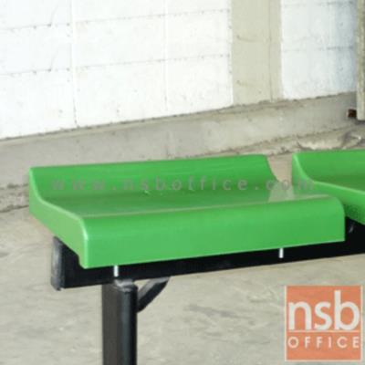 ที่นั่งเปลือกโพลี่แบบแบน รุ่น KS-26  เฉพาะที่นั่ง:<p>เปลือกพลาสติกโพลี่อย่างหนา ฉีดขึ้นรูปอย่างดี รองรับน้ำหนักได้ดี ไม่มีพนักพิง มีให้เลือก 2 สีคือสีเขียว และสีส้ม</p>