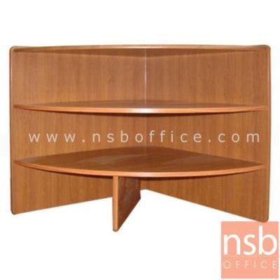 โต๊ะเข้ามุม 3 ชั้น มี 2 ขนาดคือ R60 และ R75 ผิวพีวีซี ขอบยาง:<p>ผลิต 2 ขนาดคือ รัศมี R60 และ รัศมี R75 cm / 3 แผ่นชั้น /&nbsp;ความหนา 15 มม. / TOP โต๊ะเบิ้ลขอบเป็น 30 มม. / สีสัก บีช โอ๊ค ดำ แกรนิต และสีเทาควันบุหรี่</p>