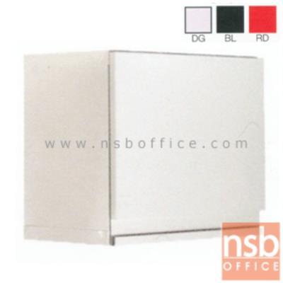 """ตู้เหล็กแขวนผนัง 1 บานเปิดใหญ่  ขนาด 50W*32D*44H cm รุ่น PANTIO PN-503 :<p>ตู้แขวนผนัง 1 บานเปิด&nbsp;รุ่น PANTIO PN-503&nbsp; ขนาด 500W*320D*440H mm ผลิต 3 สีคือสีขาวมุก(DG) สีแดง(RD) สีดำ(BL)<br /><span style=""""text-decoration: underline;"""">*กรณีเจาะยึดผนังเพิ่มใบละ 200 บาท (เฉพาะผนังปูนเท่านั้น)*</span></p>"""