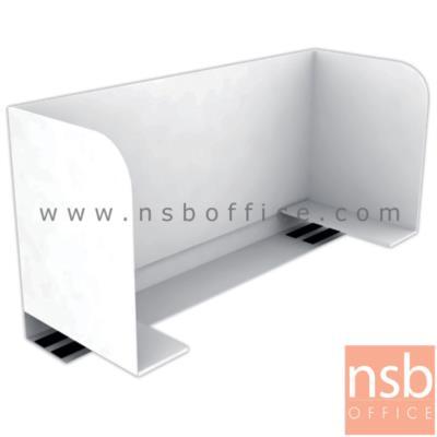มินิสกรีนคอกเหล็กสีขาว SM-50S กั้นหนังสือได้ 50W*20D*30H (ใช้วางหนีบสันโต๊ะ)   :<p>ขนาด 50W*20D*30H cm / ผลิตจากเหล็กแผ่น พับขึ้นรูป ติดแม่เหล็กได้ ใช้กั้นหนังสือหรือวางจอภาพได้ / ติดตั้งโดยสอดเข้าขอบหน้าโต๊ะ / ผลิตเฉพาะสีขาว</p>